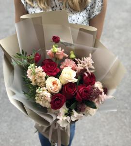 Букет Ягідний мус – Інтернет-магазин квітів STUDIO Flores