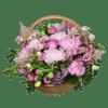 Корзина с пионами – Интернет-магазин цветов STUDIO Flores