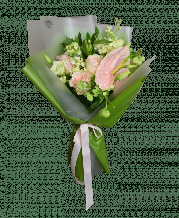 Букет Кремовий стиляга – Інтернет-магазин квітів STUDIO Flores