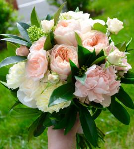 Букет невесты 2 – Flower shop STUDIO Flores