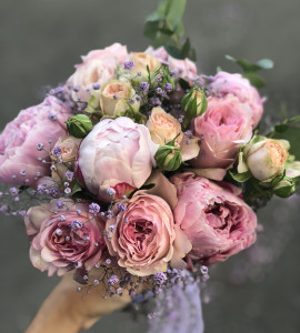 Букет невесты 6 – Flower shop STUDIO Flores