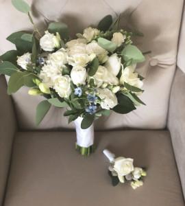Букет невесты 3 – Flower shop STUDIO Flores