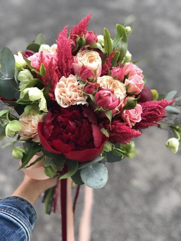 Bride's bouquet 4 – Flower shop STUDIO Flores