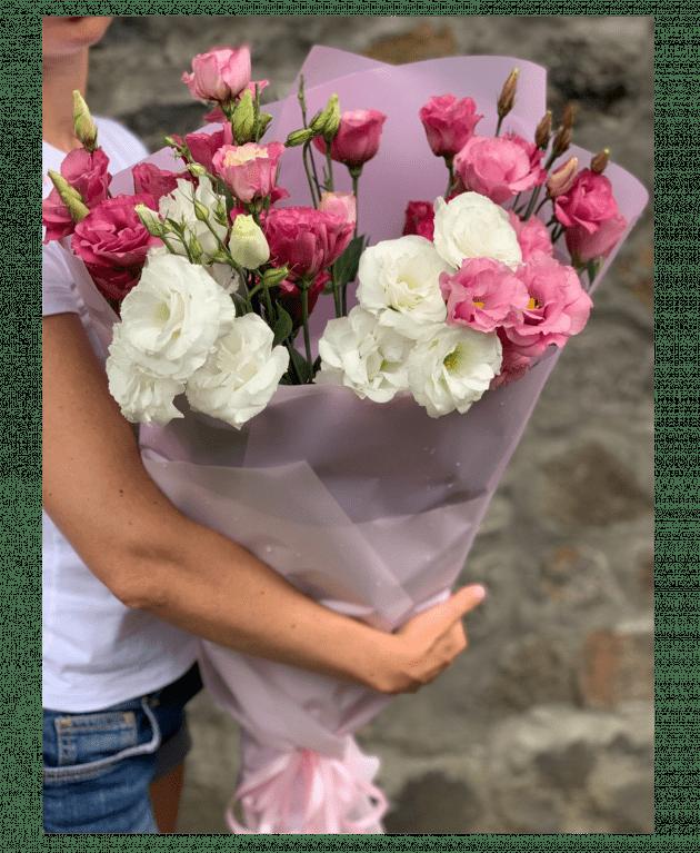 Букет эустомы – Интернет-магазин цветов STUDIO Flores