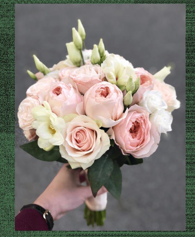 Букет невесты 9 – Интернет-магазин цветов STUDIO Flores