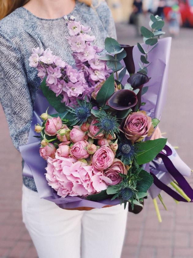 Букет Сумерки – Интернет-магазин цветов STUDIO Flores