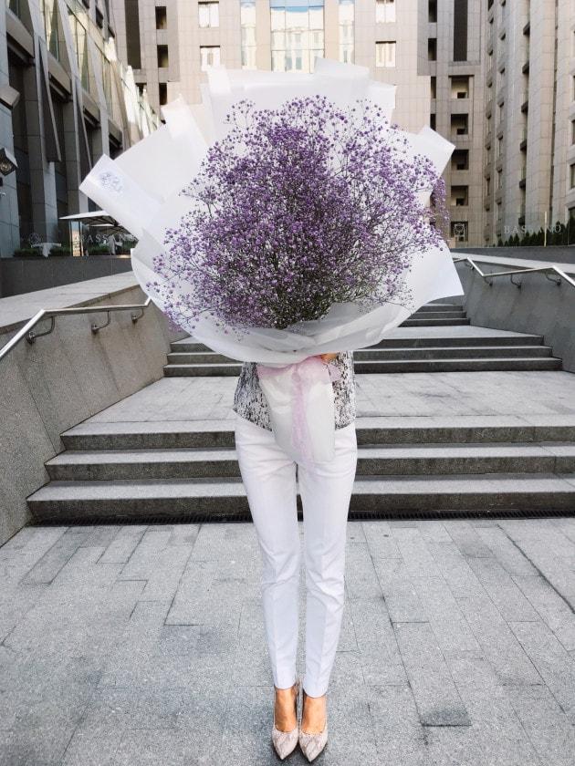 Букет Облако в руках – Интернет-магазин цветов STUDIO Flores