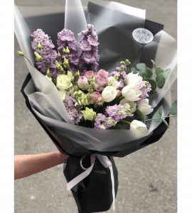 Букет Город Ангелов – Flower shop STUDIO Flores