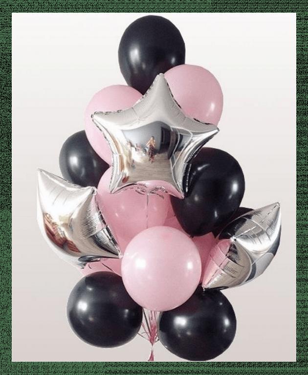Комплект шаров  один – Интернет-магазин цветов STUDIO Flores
