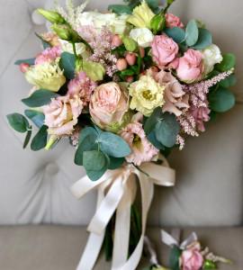 Букет невесты 13 – Интернет-магазин цветов STUDIO Flores