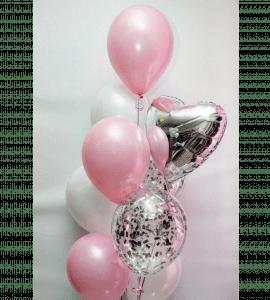 Комплект шаров 2 – Интернет-магазин цветов STUDIO Flores
