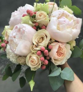 Букет невесты 12 – Flower shop STUDIO Flores