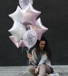 Комплект шаров 3 – Интернет-магазин цветов STUDIO Flores