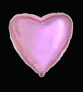 Сердце розовое – Flower shop STUDIO Flores