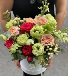 Букет Кремовый коктейль – Інтернет-магазин квітів STUDIO Flores