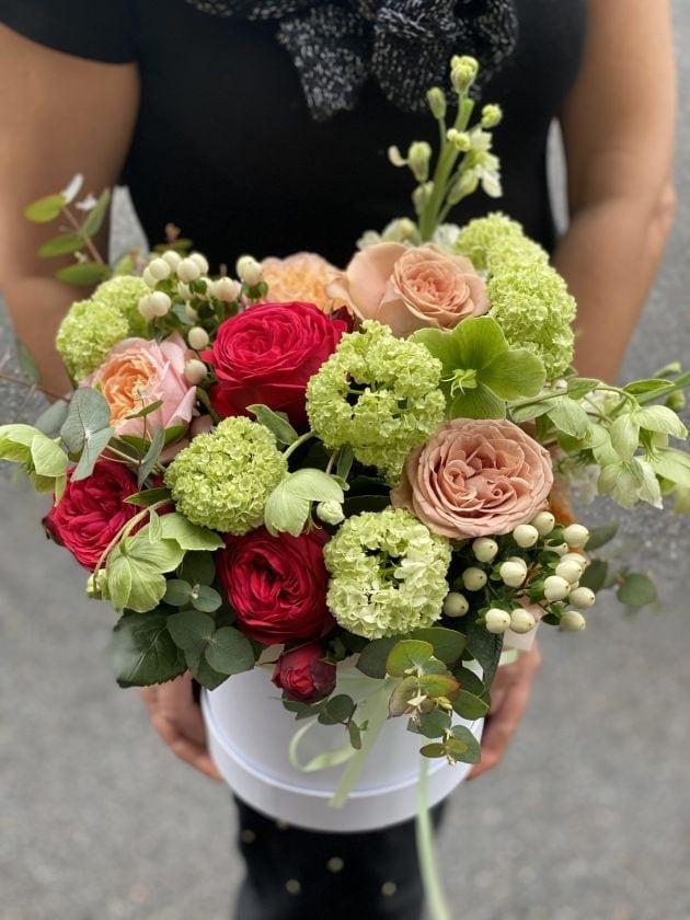 Букет Кремовий коктейль – Інтернет-магазин квітів STUDIO Flores
