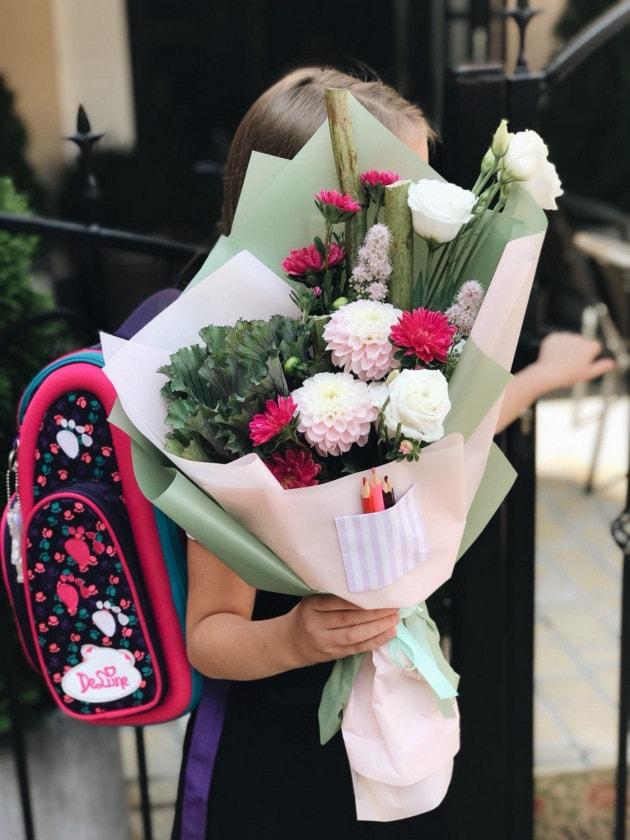 Букет 'День знаний' – Интернет-магазин цветов STUDIO Flores