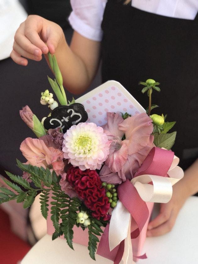 Букет 'Математика' – Интернет-магазин цветов STUDIO Flores