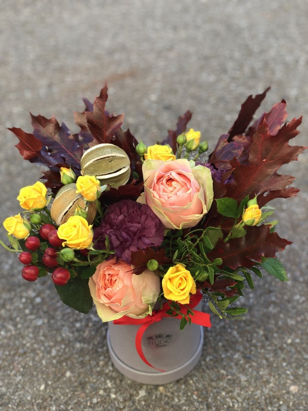 Букет Улюбленому вчителю – Інтернет-магазин квітів STUDIO Flores