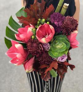 Букет Рубінові вогні – Інтернет-магазин квітів STUDIO Flores
