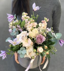 Букет Цветочная дымка – Інтернет-магазин квітів STUDIO Flores