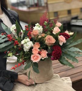 Букет Бархатная осень – Интернет-магазин цветов STUDIO Flores