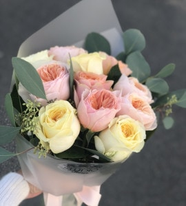 Букет Зефирное чудо – Интернет-магазин цветов STUDIO Flores