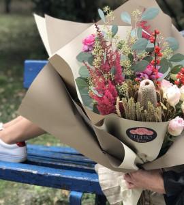 Букет Віденський вальс – Інтернет-магазин квітів STUDIO Flores