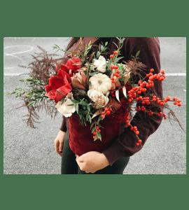 Букет Бургунди – Інтернет-магазин квітів STUDIO Flores