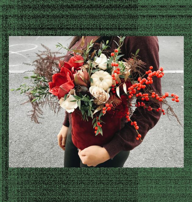 Букет Бургунди – Интернет-магазин цветов STUDIO Flores