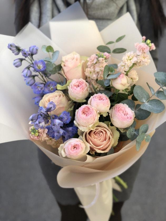 Букет Нежные чувства – Интернет-магазин цветов STUDIO Flores