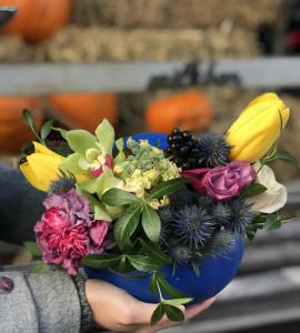 Букет Тропикана – Інтернет-магазин квітів STUDIO Flores