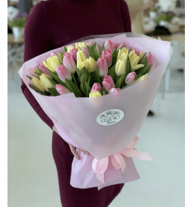 Как сохранить букет тюльпанов свежим - Flores shop