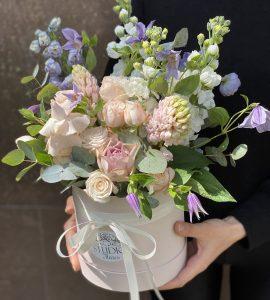 Букет Цветочная дымка – Интернет-магазин цветов STUDIO Flores