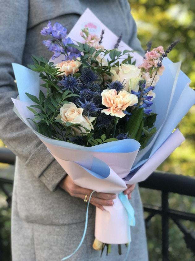 Букет Тиффани – Интернет-магазин цветов STUDIO Flores