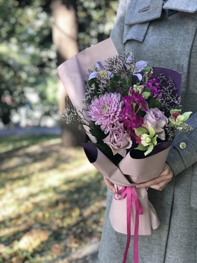 Букет Солнечные блики – Интернет-магазин цветов STUDIO Flores