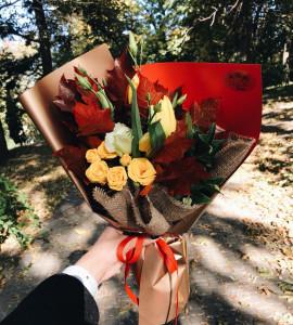 Букет Листопад – Интернет-магазин цветов STUDIO Flores