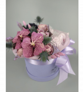 Букет Черничные грезы – Интернет-магазин цветов STUDIO Flores