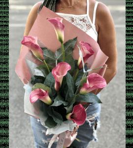 Букет с каллами – Інтернет-магазин квітів STUDIO Flores