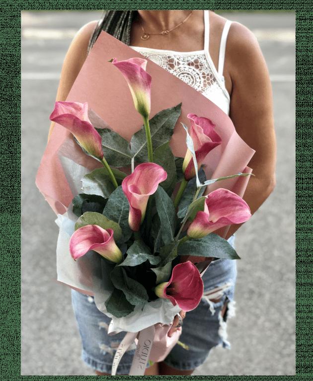 Букет з каллами – Інтернет-магазин квітів STUDIO Flores