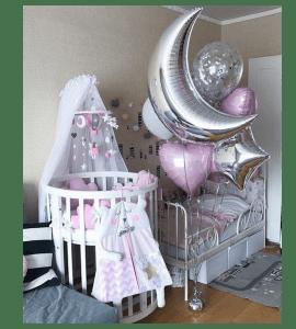 Комплект шаров 10 – Интернет-магазин цветов STUDIO Flores