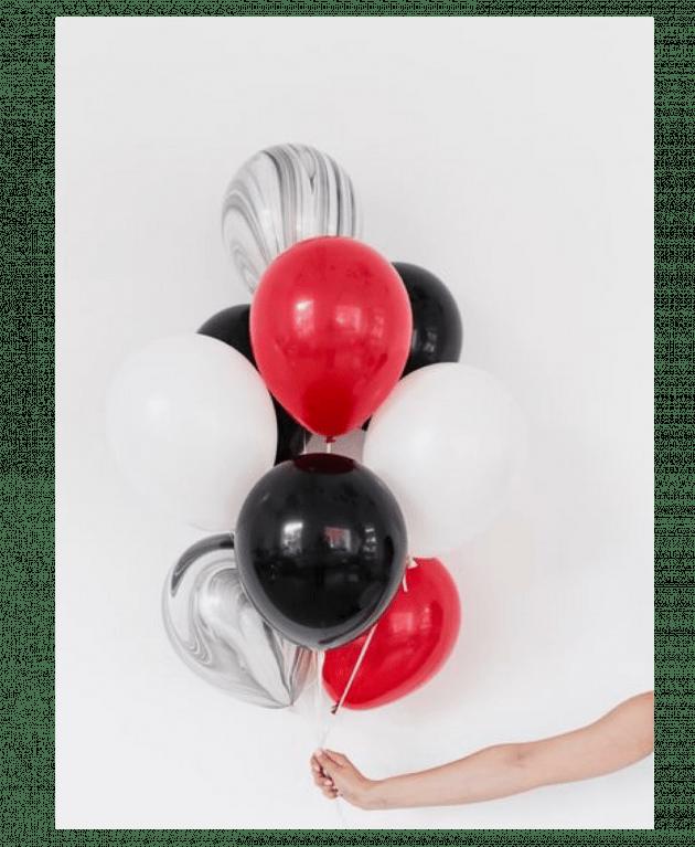 Комплект шаров 12 – Интернет-магазин цветов STUDIO Flores