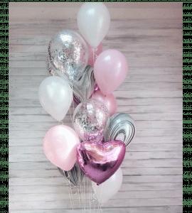 Комплект шаров восемь – Интернет-магазин цветов STUDIO Flores