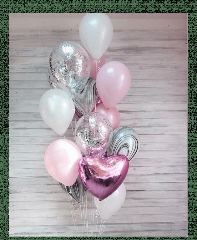 Комплект шаров 8 – Интернет-магазин цветов STUDIO Flores