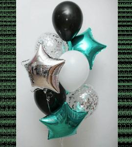 Комплект шаров 9 – Интернет-магазин цветов STUDIO Flores