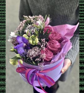 Букет Черничные грезы – Інтернет-магазин квітів STUDIO Flores