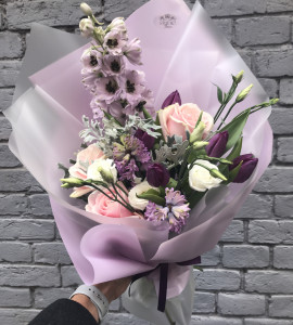 Букет Сиреневая дымка – Інтернет-магазин квітів STUDIO Flores