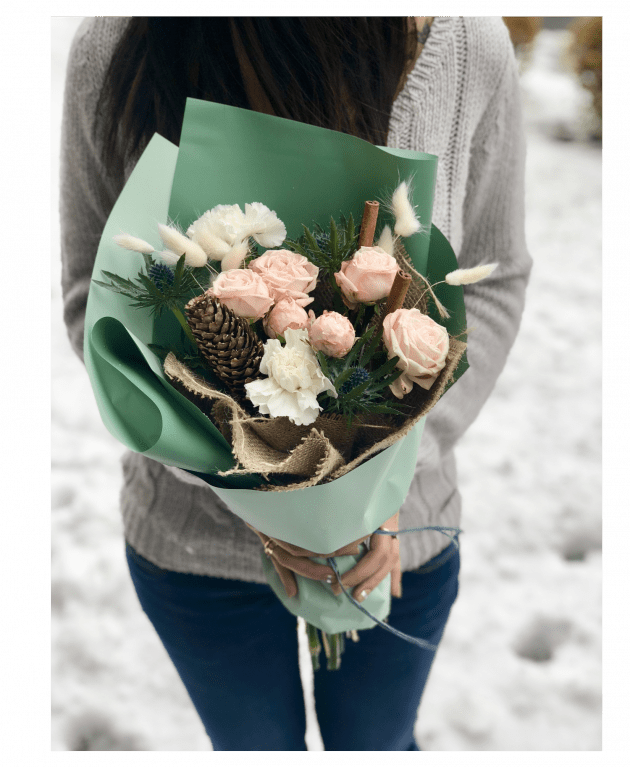Букет Первый заморозок – Интернет-магазин цветов STUDIO Flores