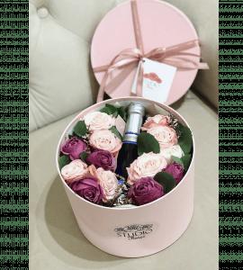 """Букет """"Искры шампанского"""" – Интернет-магазин цветов STUDIO Flores"""