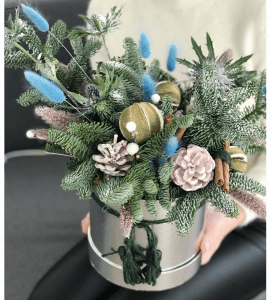 Букет Льдинка – Интернет-магазин цветов STUDIO Flores